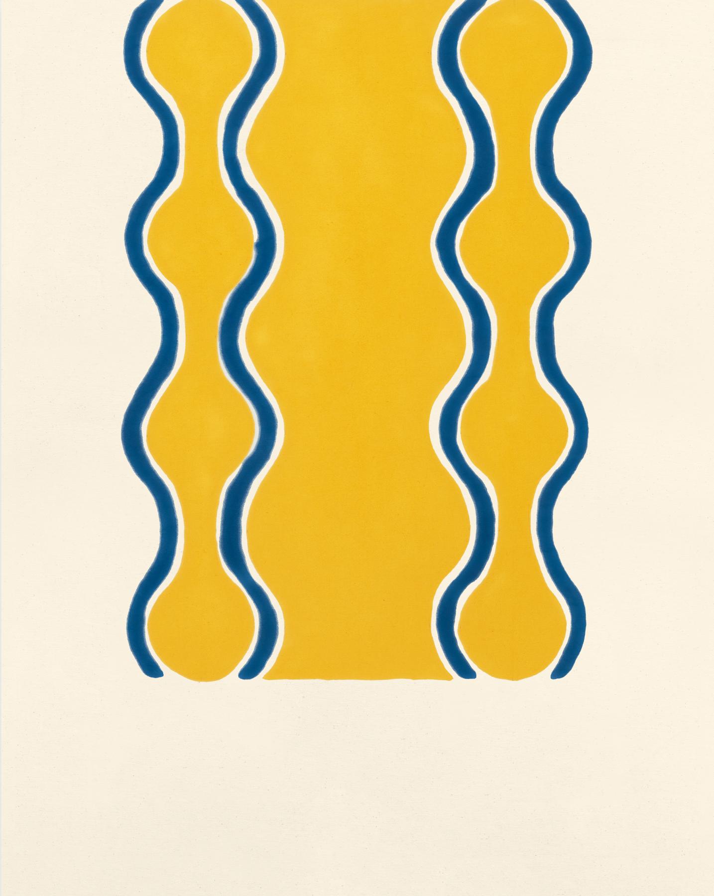 Untitled, 1963, Oil-based enamel on canvas