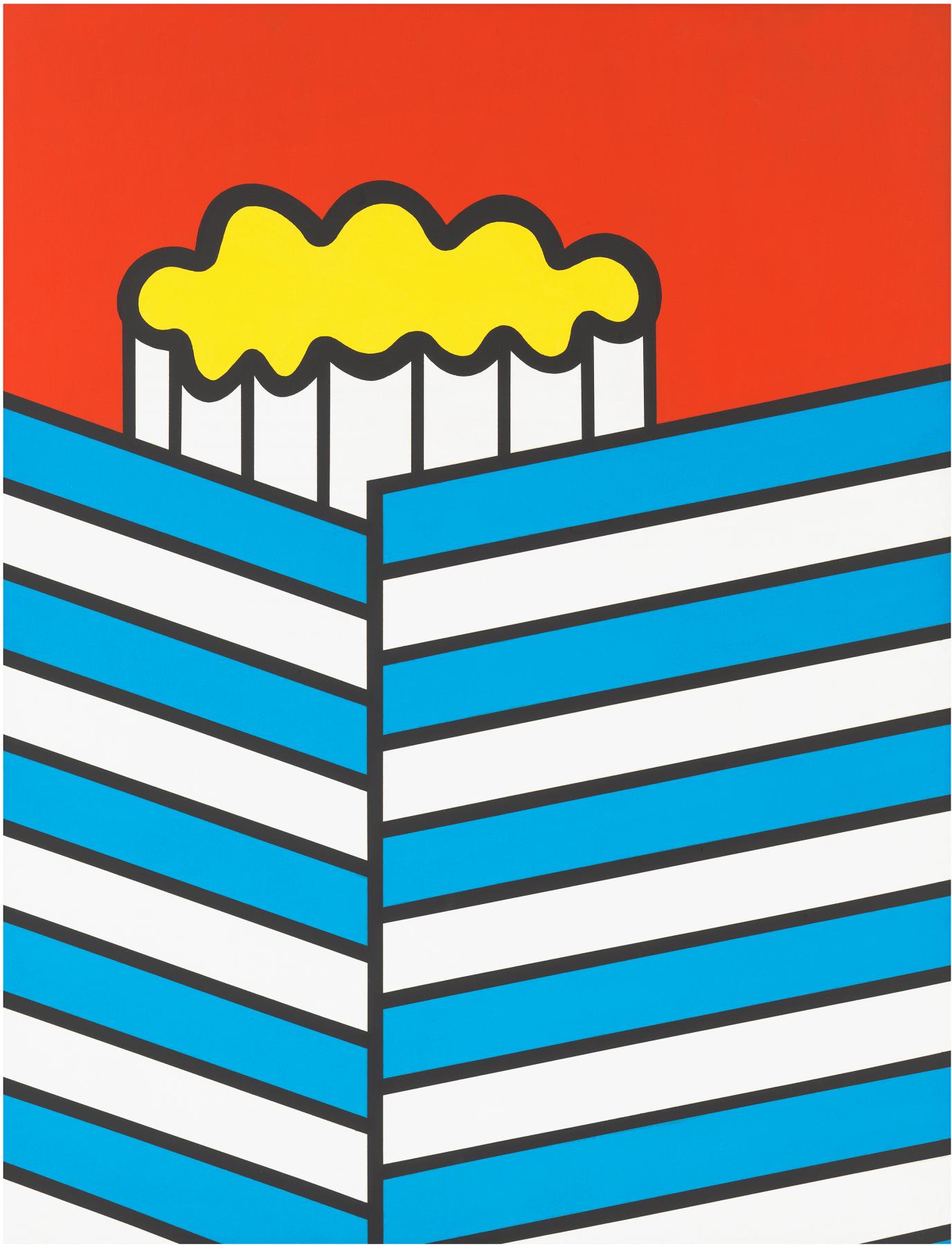 United Color Kit, 1967, Acrylic on canvas