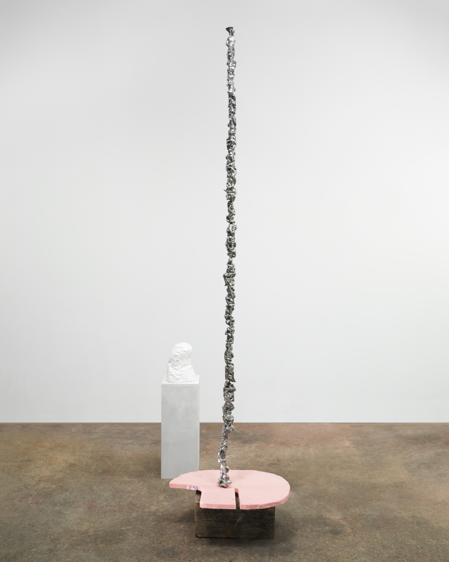 Mighty Love, 2013, Aluminum, plastic, wood, and plaster