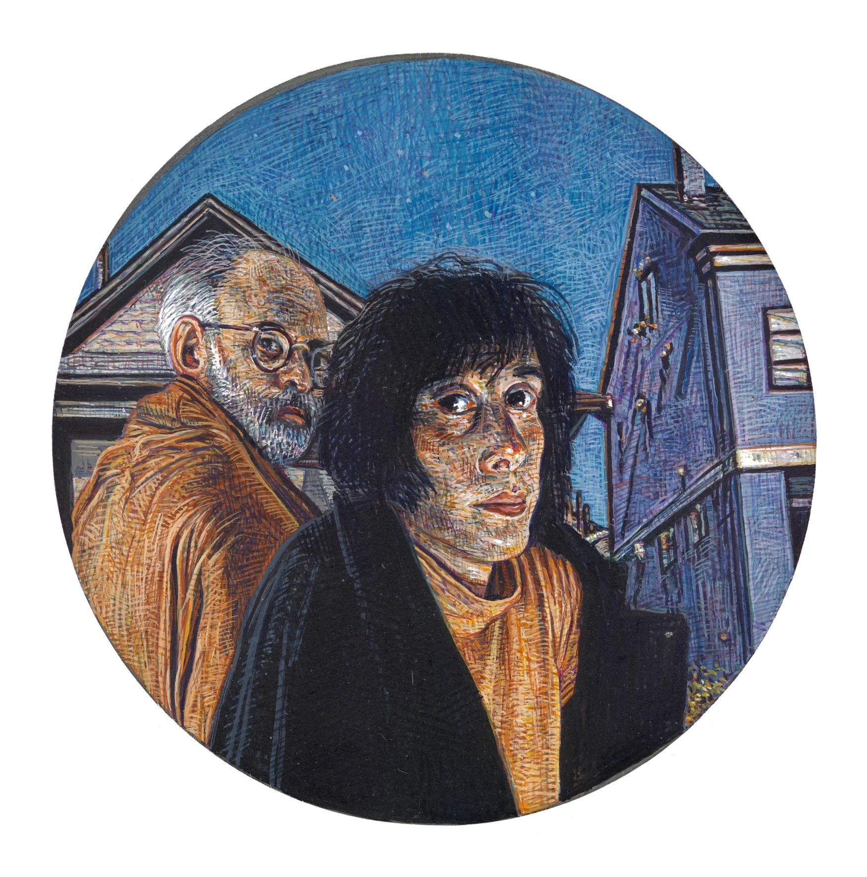 Mark Greenwold, Circle #1 (Lou), 1994