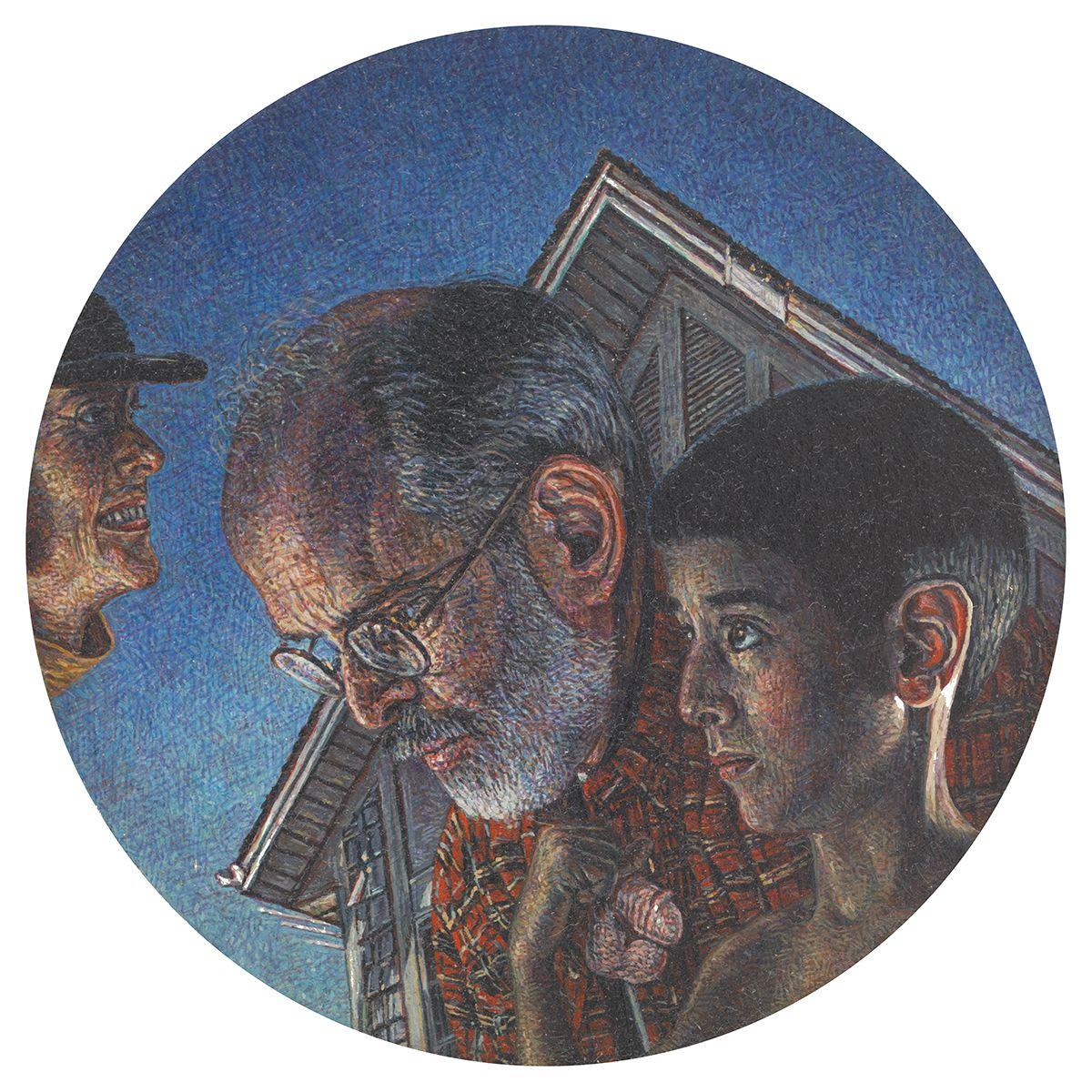 Mark Greenwold, Circle #5 (Adam), 1994