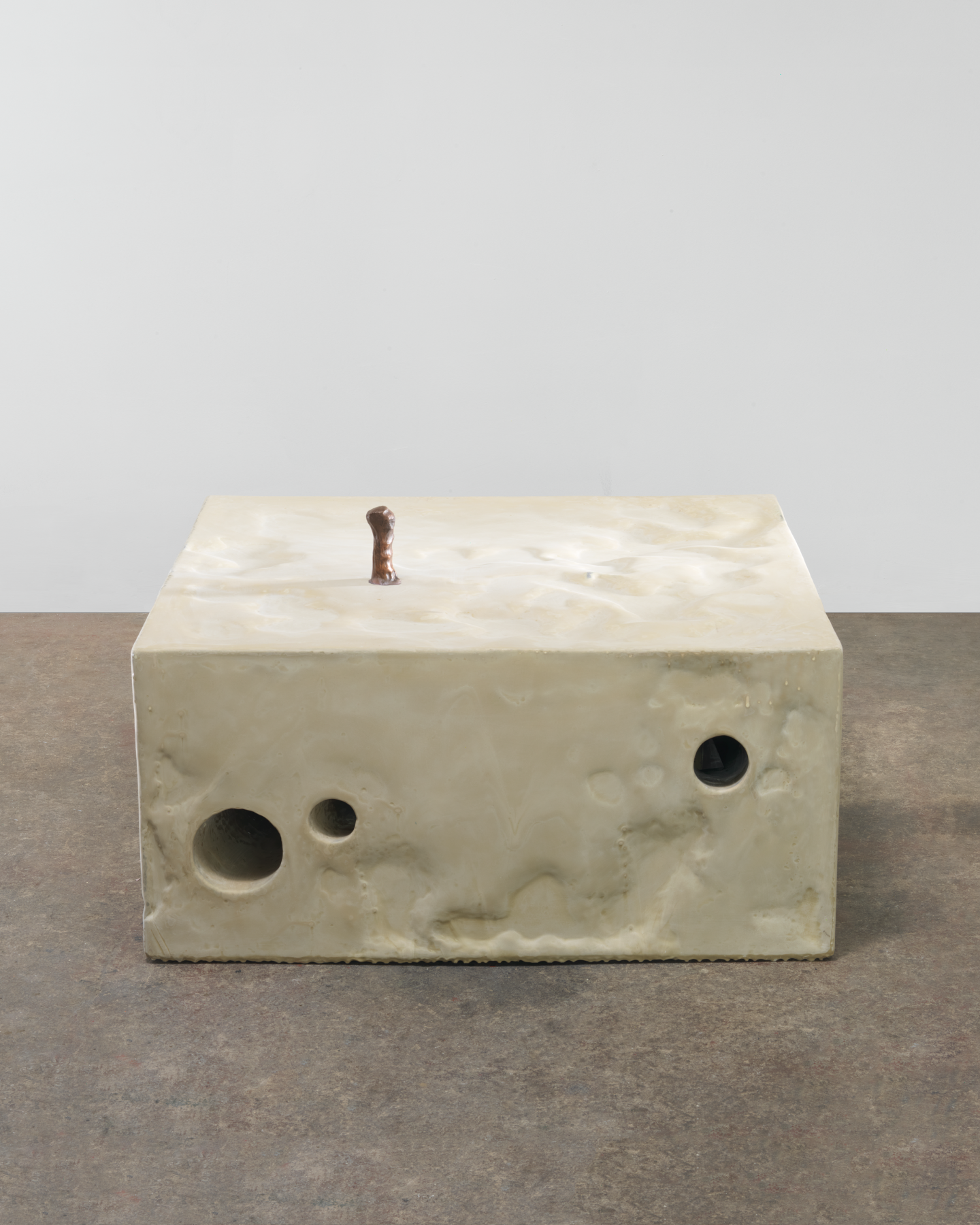 Position, 2013, Plastic, epoxy, and copper