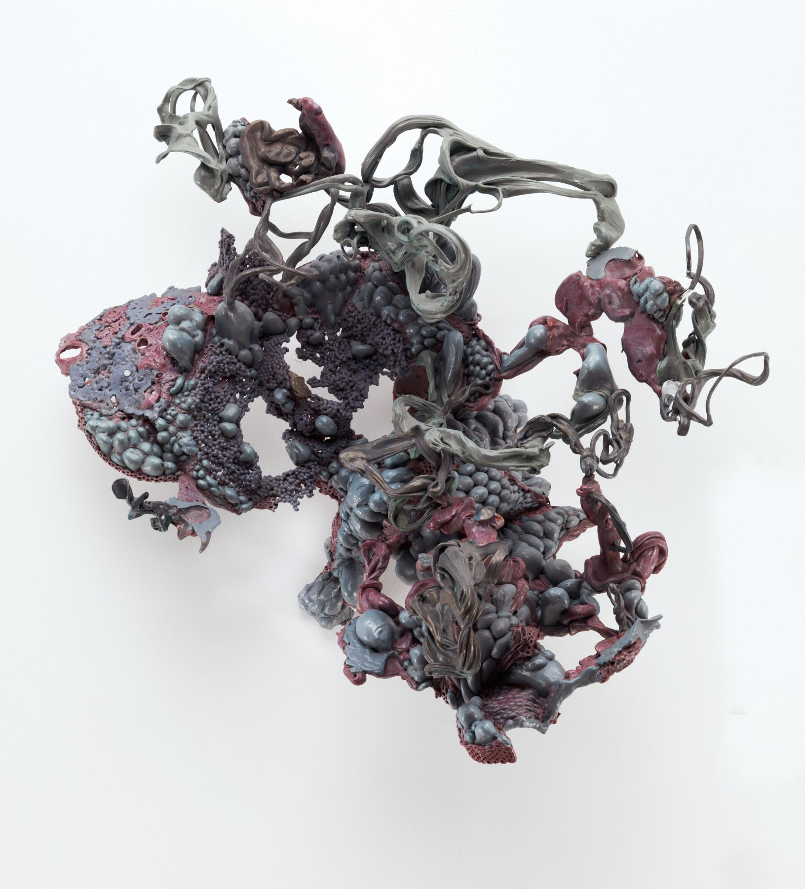 Untitled, 2002, Thermoplastic and acrylic paint