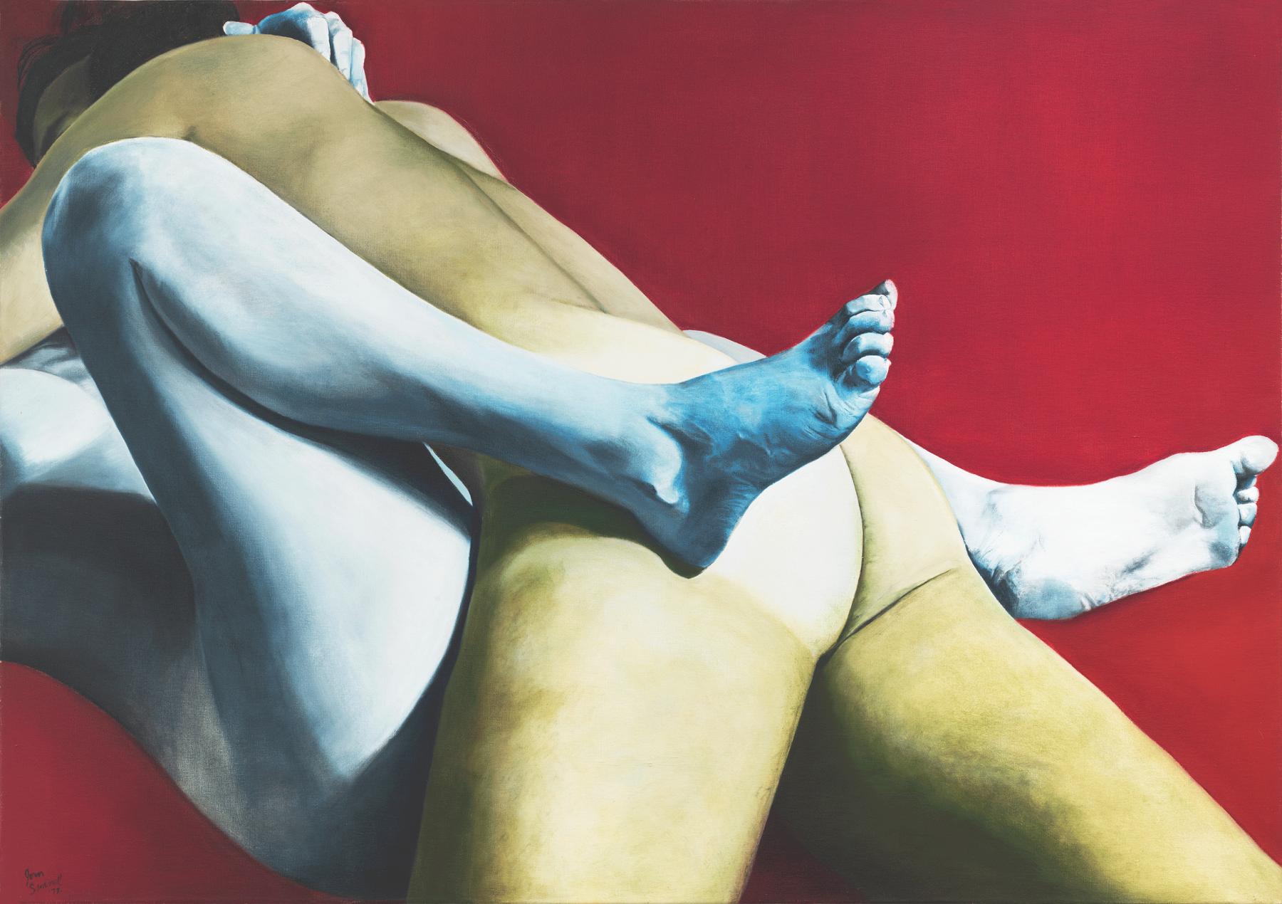Joan Semmel Red, White, and Blue, 1973