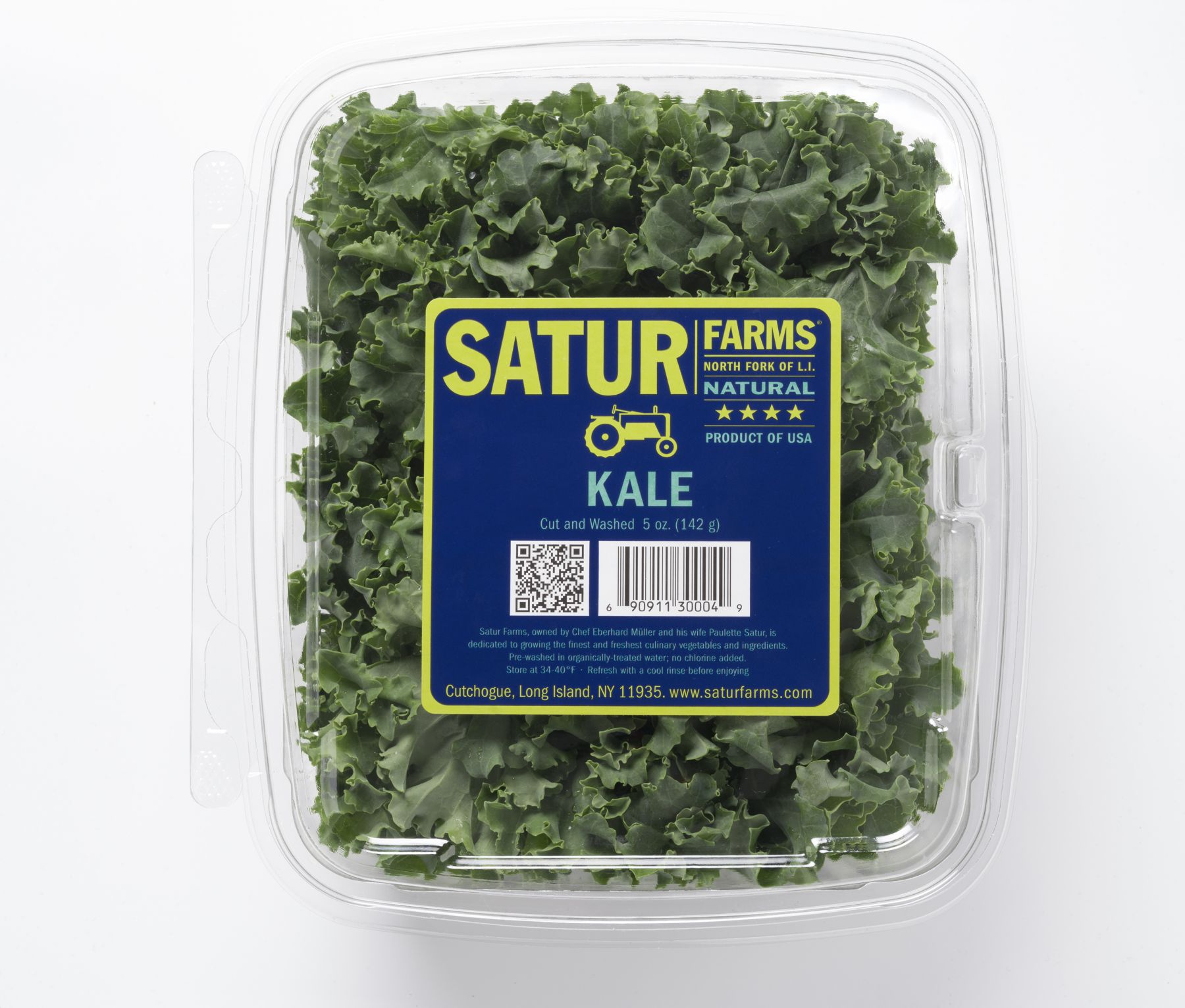 Kale Retail Clamshell Pack