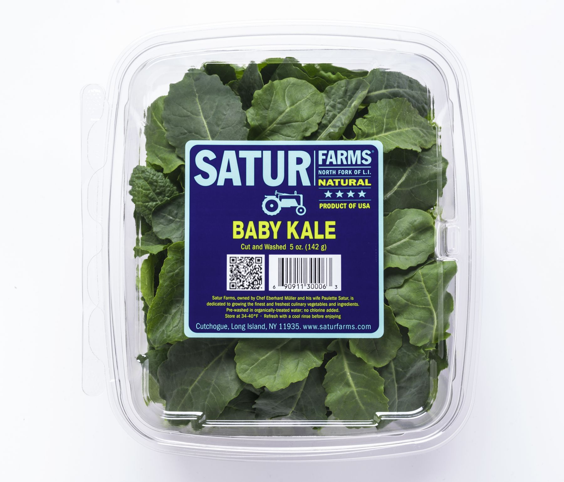 Baby Kale Retail Clamshell Pack
