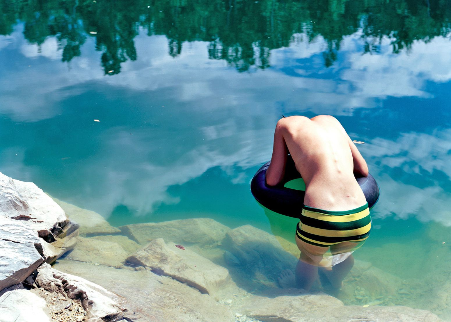 Joanna Case-Hofmeister  Ariel in the Quarry, 2006  Optical C-Print   30 x 40 inches