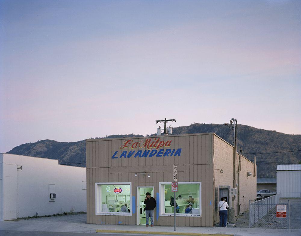 Kathya Maria Landeros  Main Street Laundromat, Eastern Washington, 2012  From the series West  Archival Pigment Print