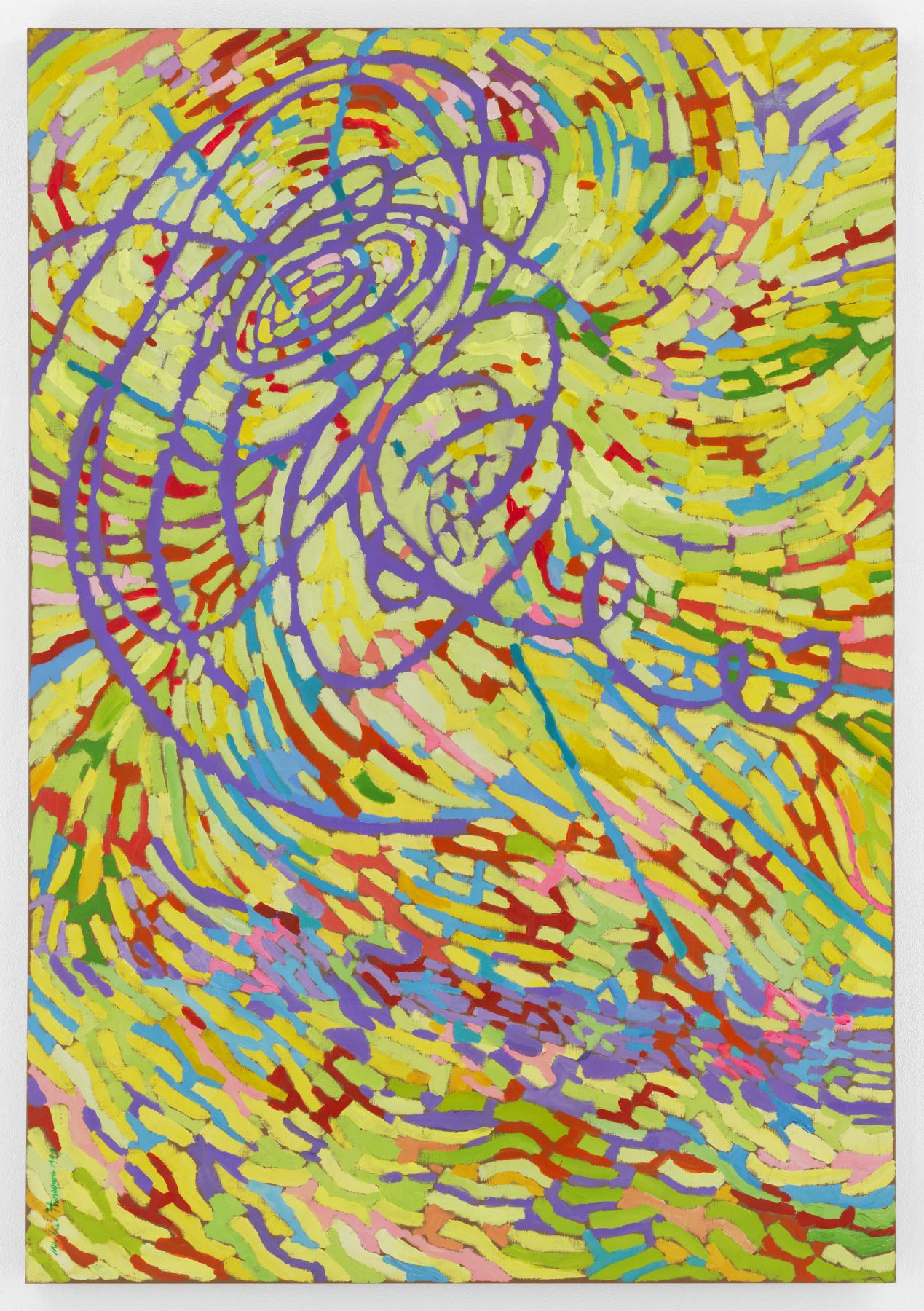 Mildred Thompson, String Theory 4, 1999