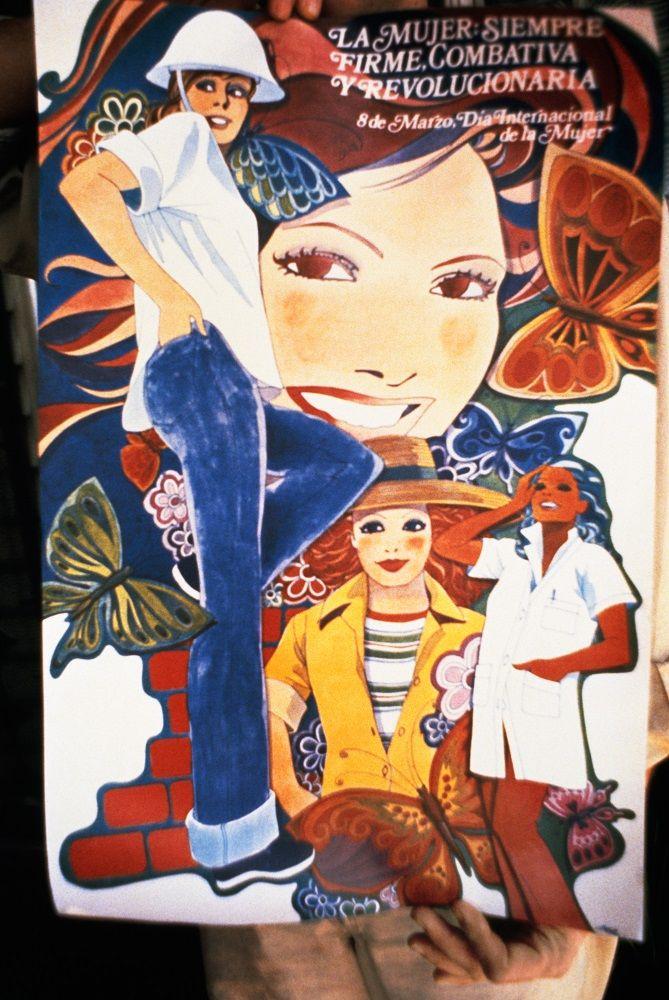MARTHA ROSLER Poster Celebrating Women, Havana Graphic Workshop
