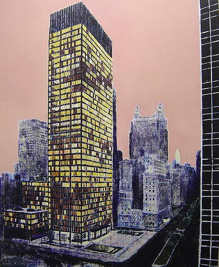 ENOC PEREZ Seagram Building, New York
