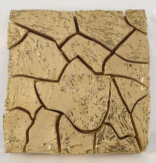 ALBERTO BURRI Gold Cretto