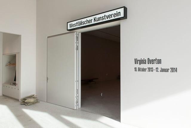 Virginia Overton at Westfälischer Kunstverein