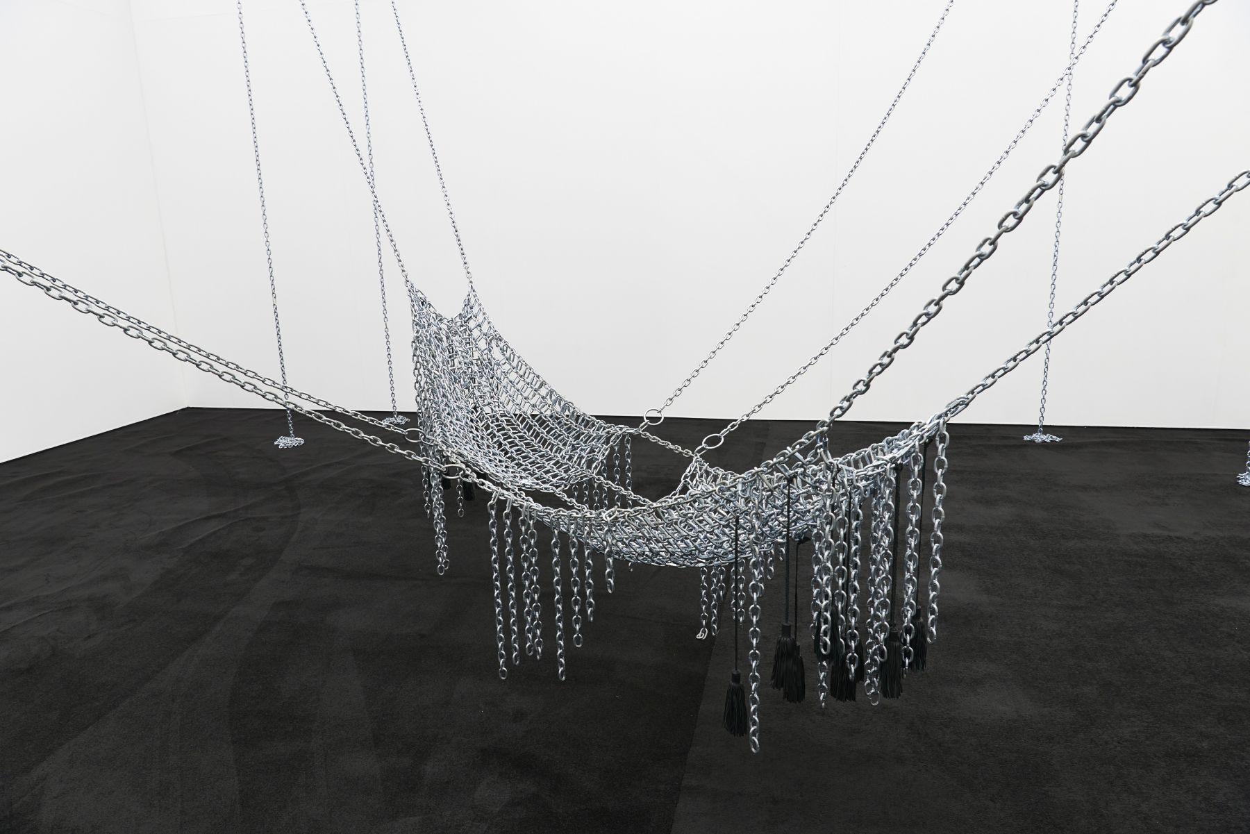 MONICA BONVICINI Chain Leather Swing