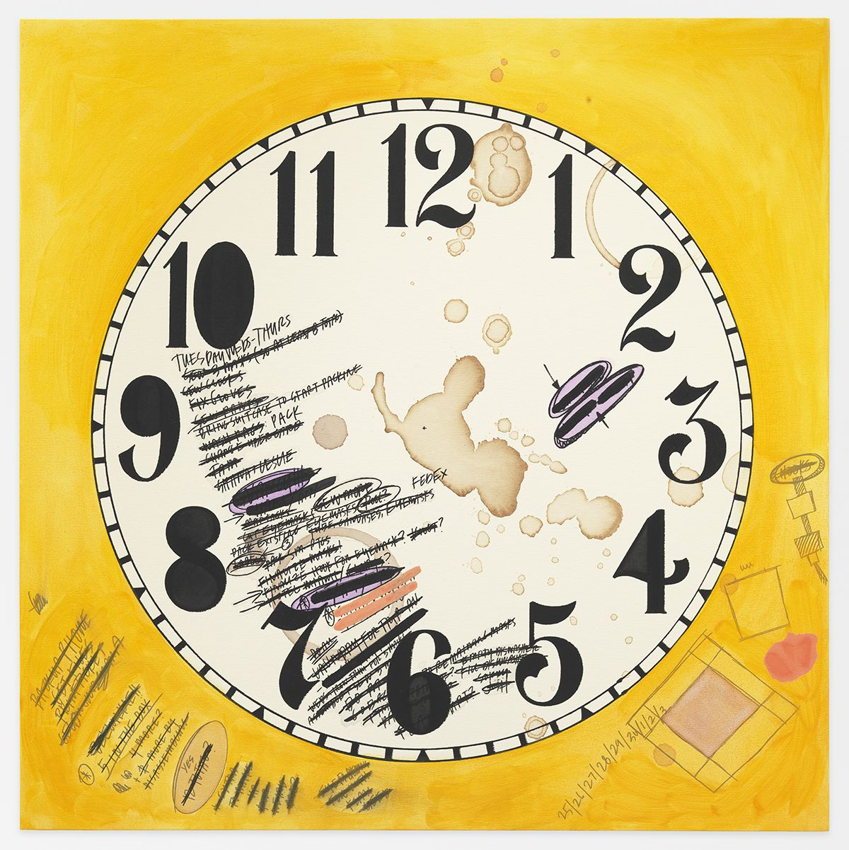 AMANDA ROSS-HO Untitled Timepiece (5 IN THE BOX)