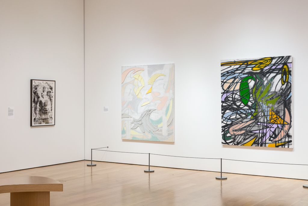 KELTIE FERRIS Installation view of*O*P*E*N* at The Speed Art Museum, Louisville, KY, 2018