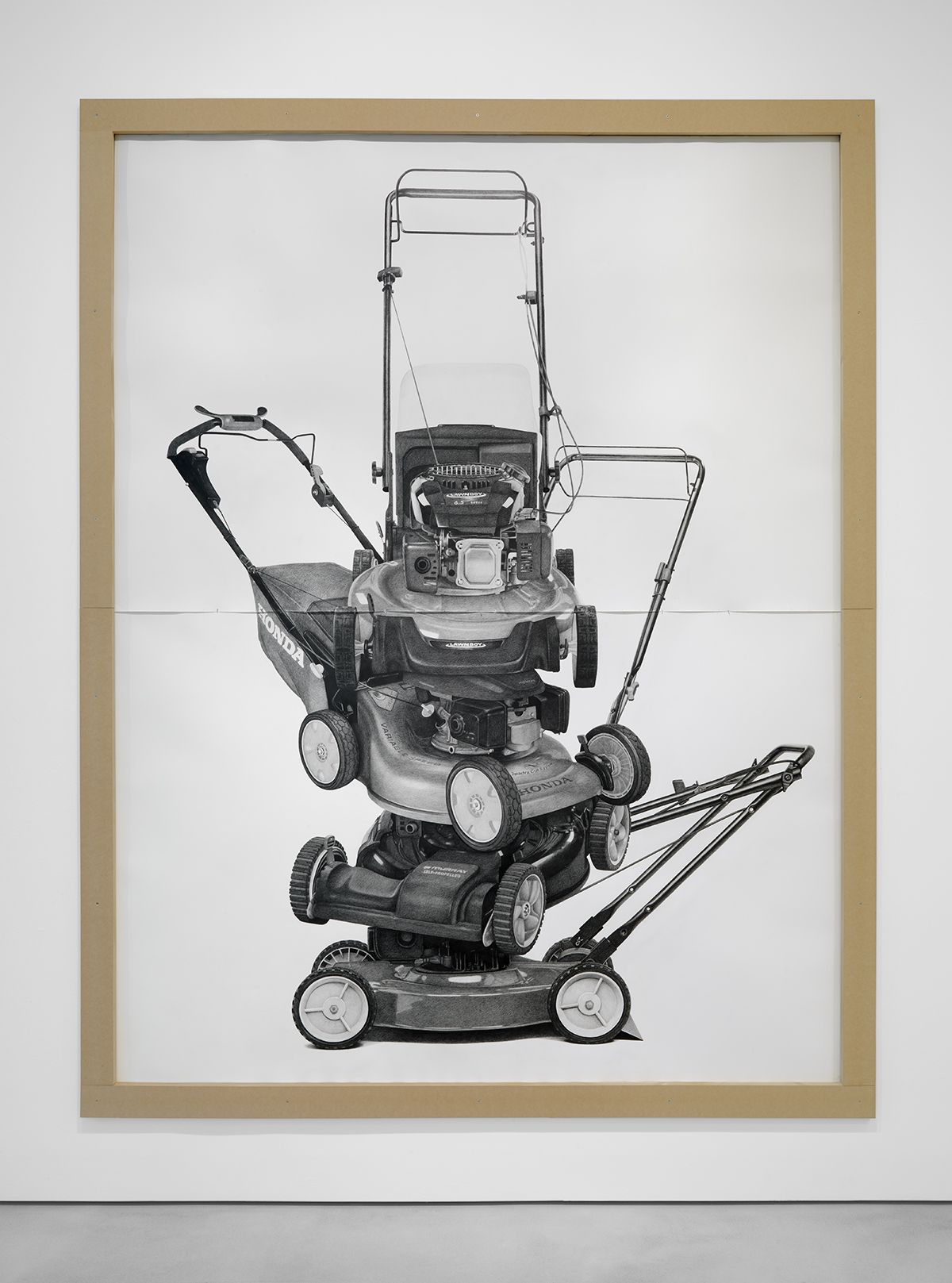 KARL HAENDEL Stacked Lawnmowers