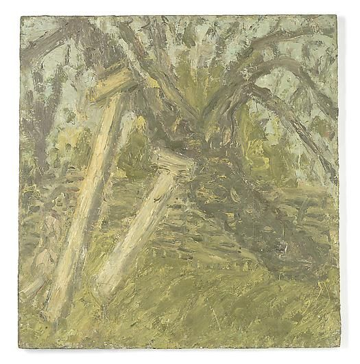 LEON KOSSOFF Cherry Tree, and Young Girl