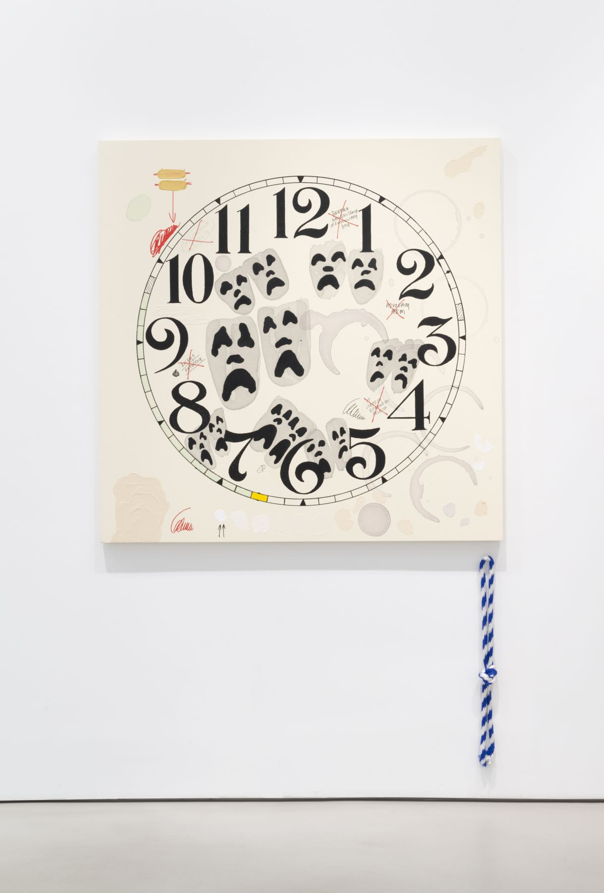 AMANDA ROSS-HO Untitled Timepiece (A CLEARLY ERRONEOUS HOLDING)