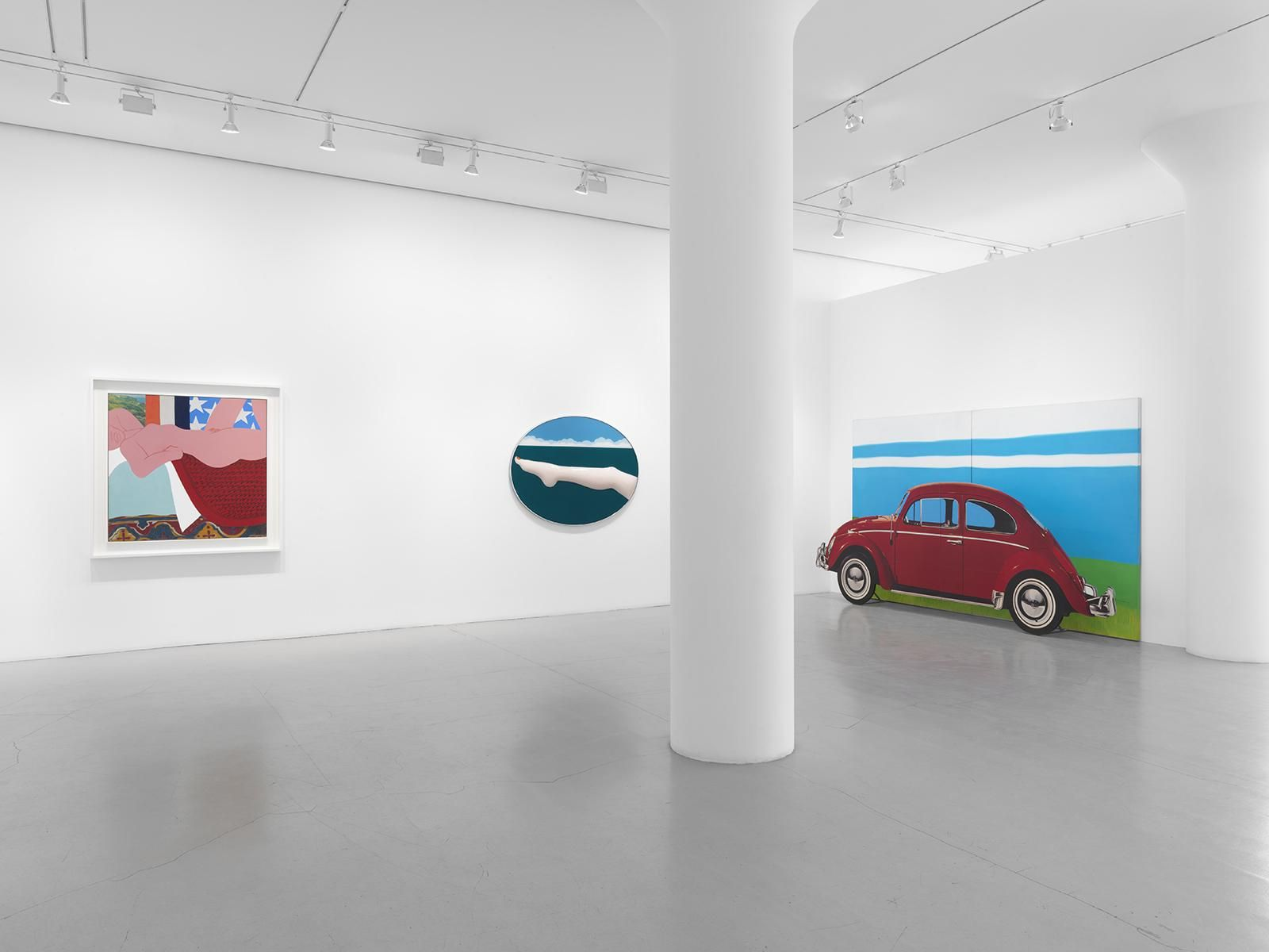 TOM WESSELMANN Installation view at Mitchell-Innes & Nash, NY, 2016