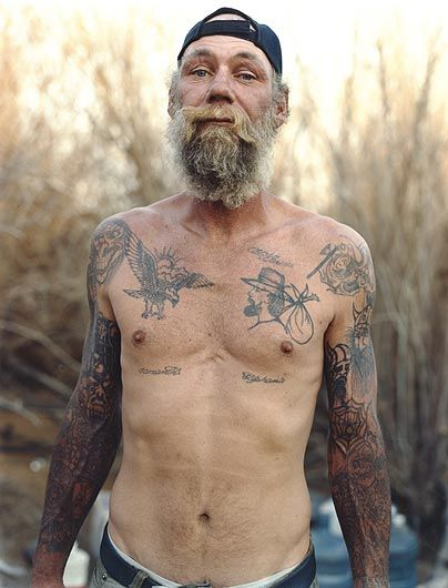 JUSTINE KURLAND Portrait of a Hobo