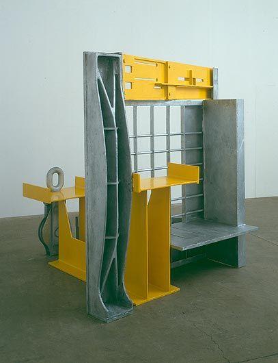 """Anthony Caro """"Yellow Room,"""" 2005-2006"""