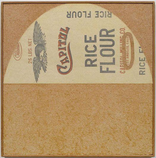 ALBERTO BURRI Capitol Rice Flour