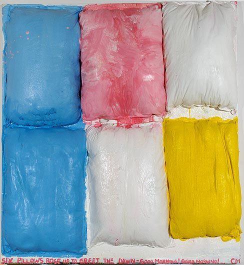 CHRIS MARTIN Pillow Painting