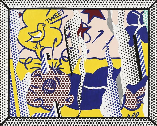 ROY LICHTENSTEIN Reflections: Wimpy I
