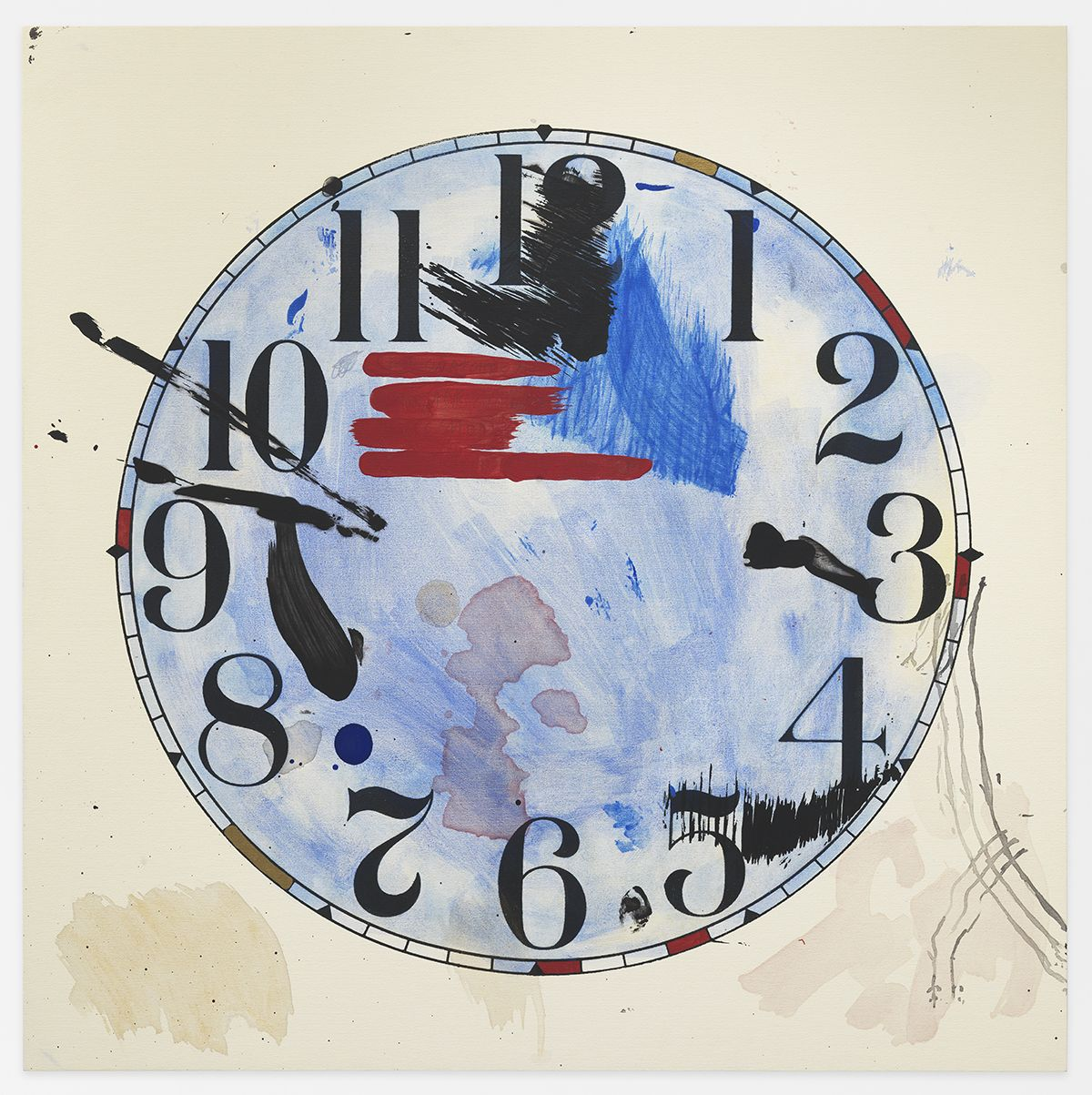 AMANDA ROSS-HO Untitled Timepiece (HEAVY THREAD/PRIMITIVE TOOL)