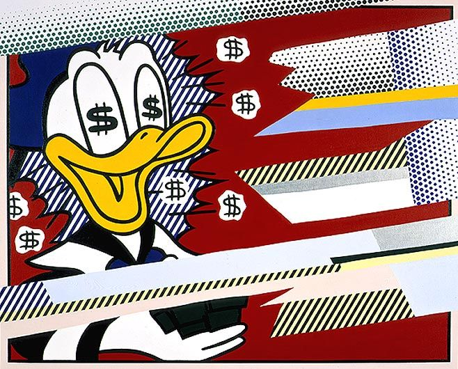 ROY LICHTENSTEIN Reflections: Portrait of a Duck