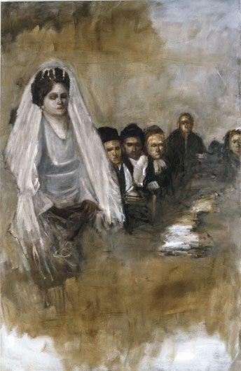 AXEL GEIS Frau mit Mannern