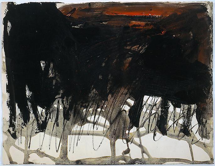 JACK TWORKOV Untitled Circa
