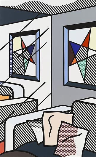 ROY LICHTENSTEIN Interior with Perfect Painting