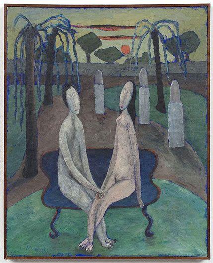 ALBERTO BURRI Untitled (Adam and Eve)