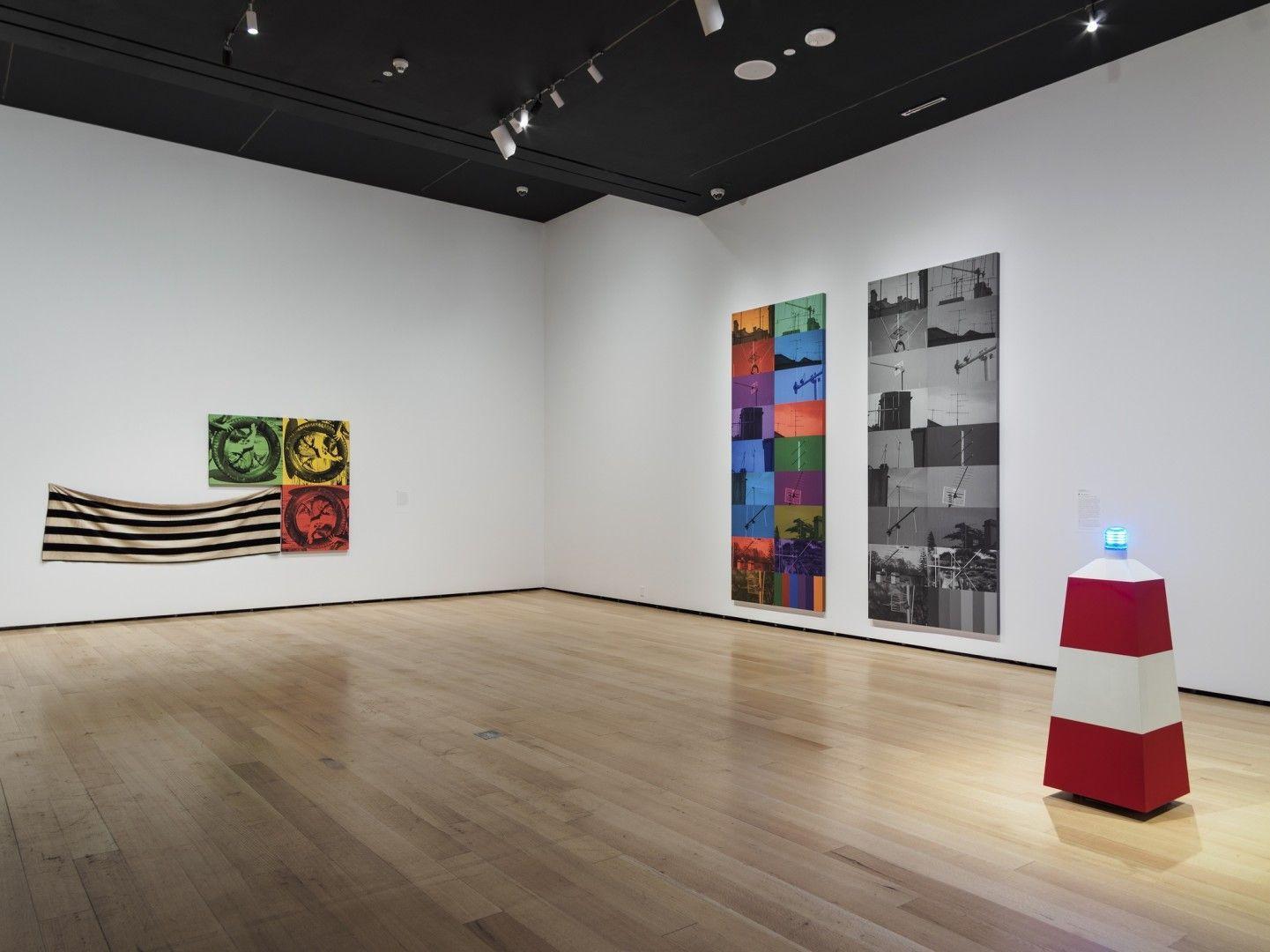 ANNETTE LEMIEUX Installation view ofMis en Scèneat Museum of Fine Arts, Boston, MA, 2018