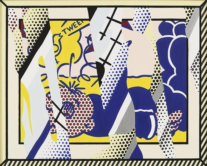 ROY LICHTENSTEIN Reflections: Wimpy III