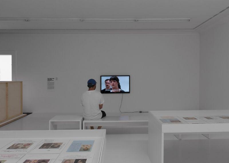 LEIGH LEDARE Installation view, Manifesta 11, Zurich, Switzerland, 2016