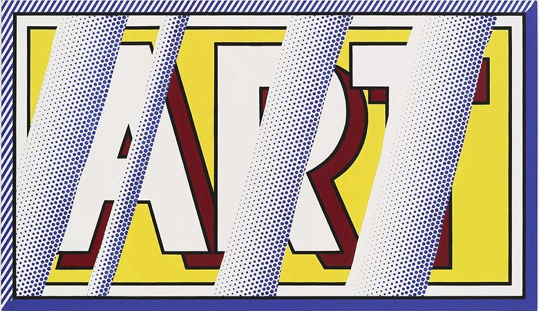 ROY LICHTENSTEIN Reflections: Art