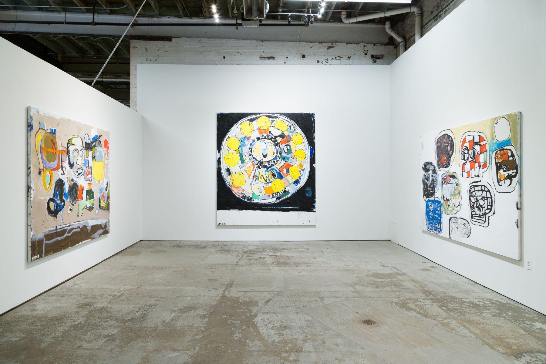 EDDIE MARTINEZ Installation view of Fast Eddie at the Museum of Contemporary Art Detroit, Detroit, MI, 2019