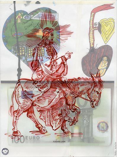 "DAVID GODBOLD ""Onwards silver""  2006"