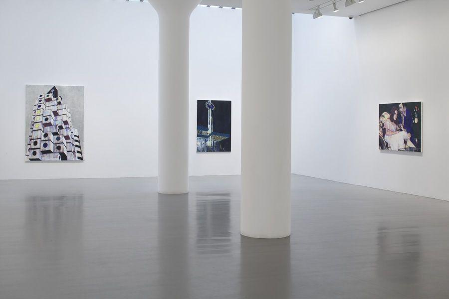 ENOC PEREZ Installation view at Mitchell-Innes & Nash, NY, 2009