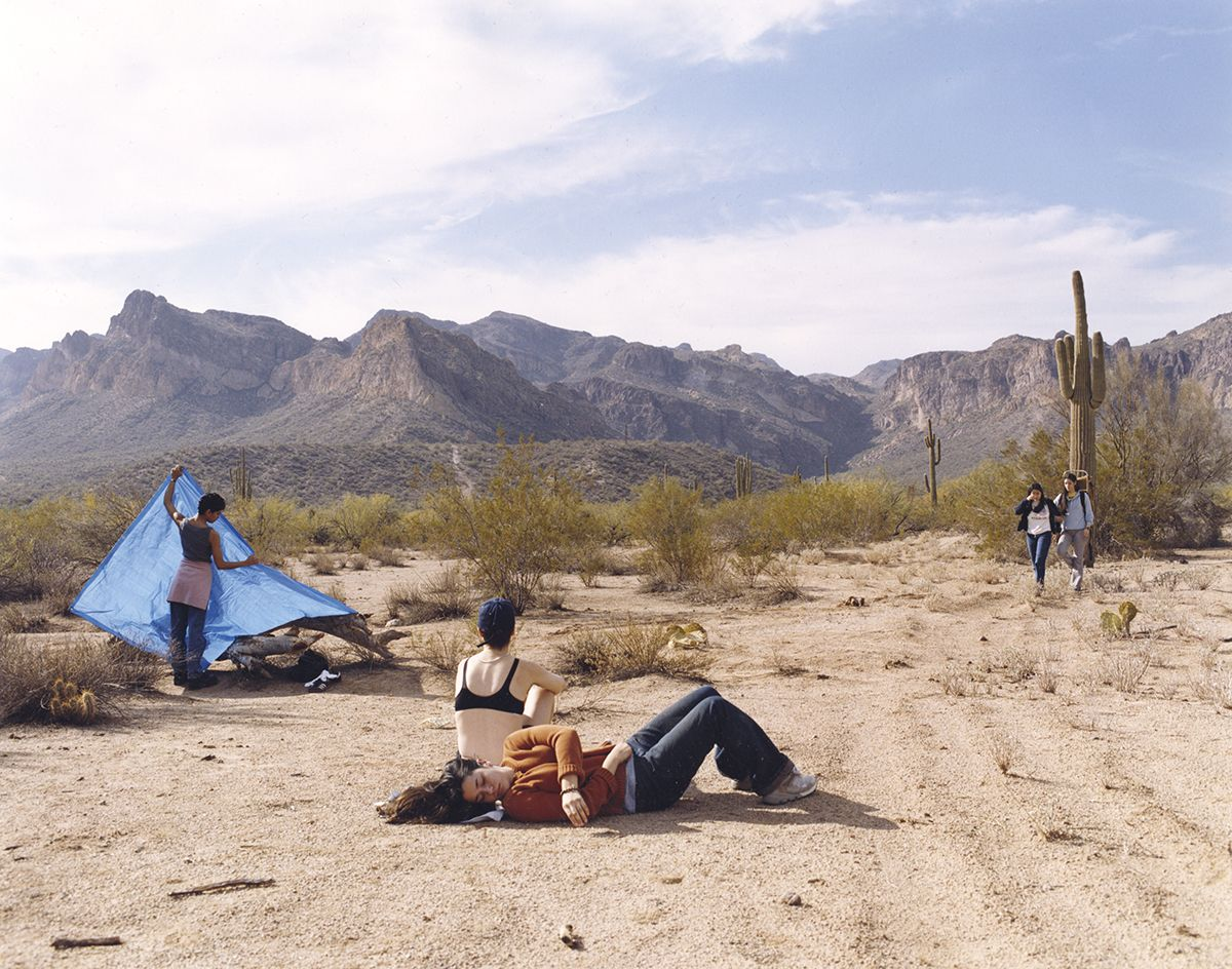 JUSTINE KURLAND Superstitious Mountain 2003