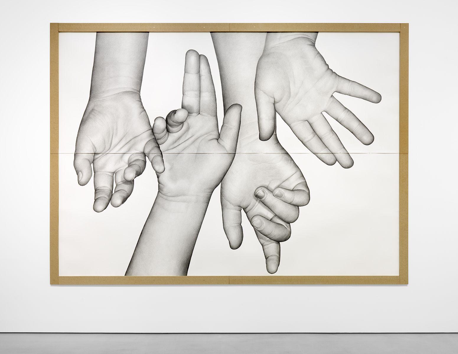 KARL HAENDEL Hazel's Hand (quadrupled) 2018
