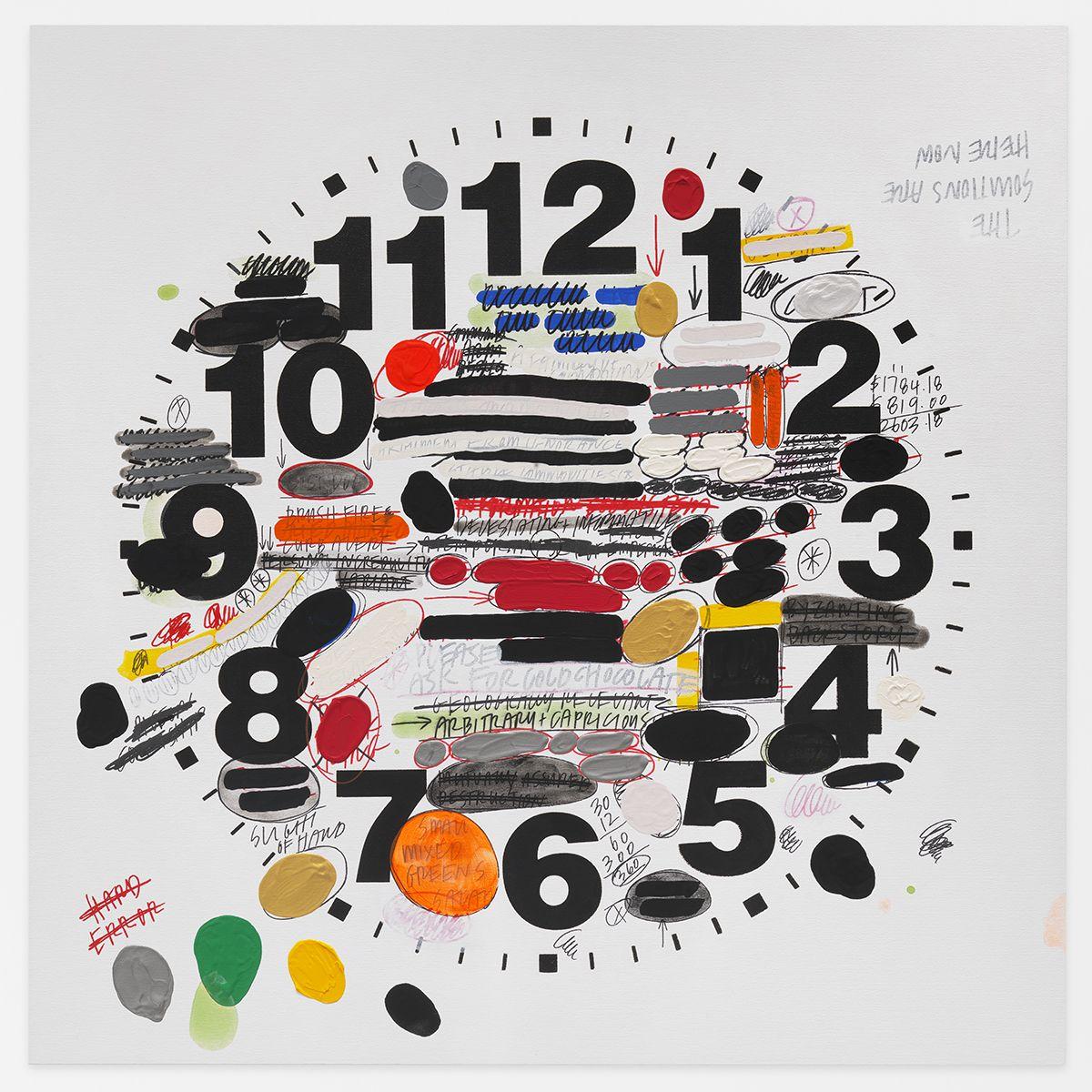 AMANDA ROSS-HO Untitled Timepiece (HARD ERROR)