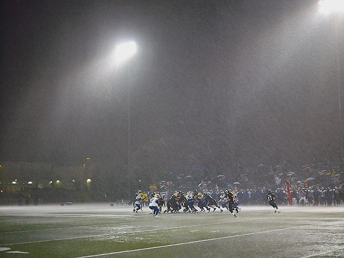 CATHERINE OPIE Football Landscape #10 (Poway vs. Mira Mesa, Poway, CA)