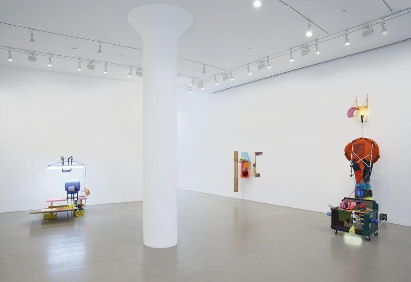 JESSICA STOCKHOLDER Installation view at Mitchell-Innes & Nash, NY, 2006