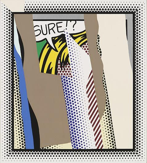 ROY LICHTENSTEIN Reflections on Sure!?