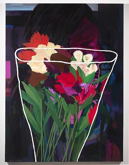 ANDREW KUO Girl, Flowers