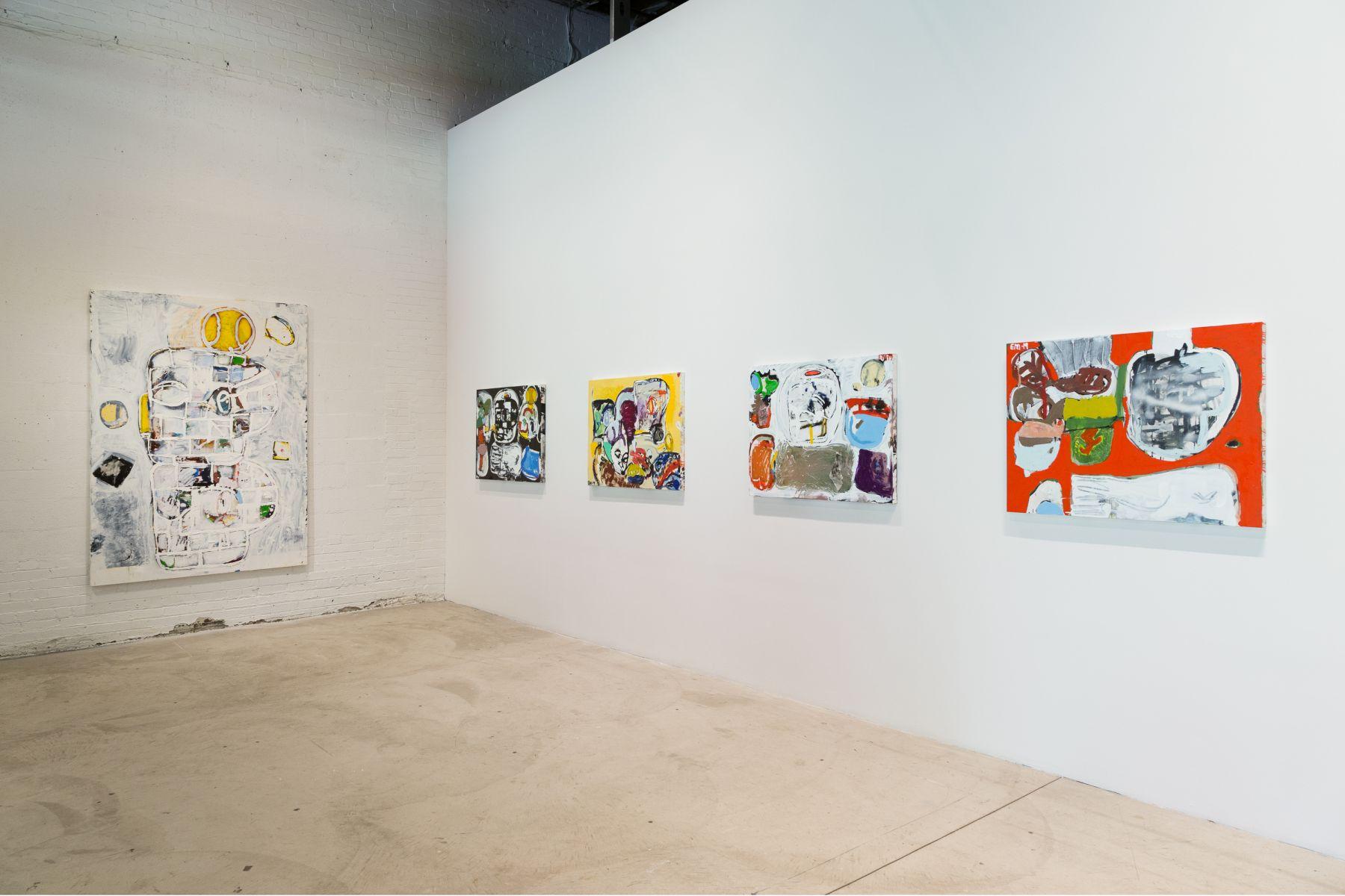 EDDIE MARTINEZ Installation view ofFast Eddieat the Museum of Contemporary Art Detroit, Detroit, MI, 2019